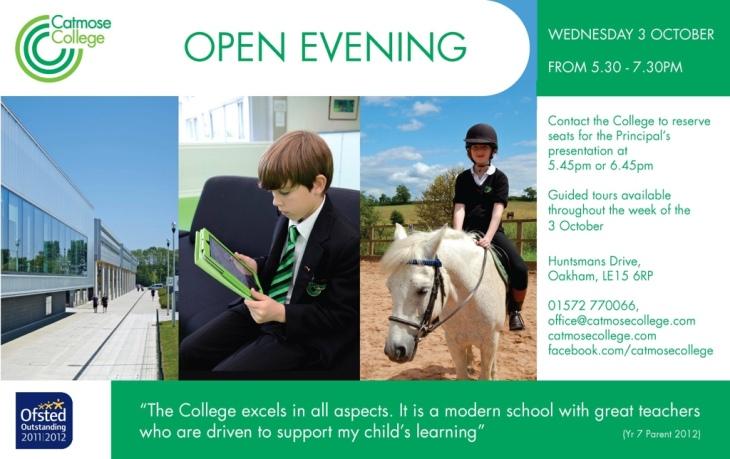 Open Evening Oakham School College Rutland