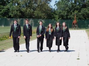 The senior student team